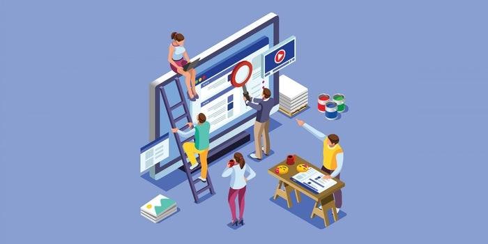 سئو و طراحی وب بهعنوان عناصر جداگانه وبسایت